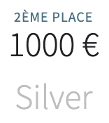 Récompense Silver - Wilaaw 2020
